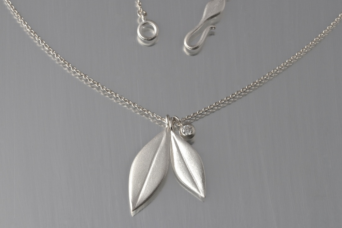 olive branch silver pendant shaffer sgm leaf mercedes necklace platinum olivebranchleafpendantnecklace products